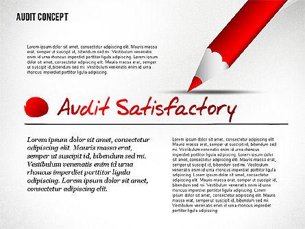 Audit Presentation Concept, Slide 6, 02665, Presentation Templates — PoweredTemplate.com