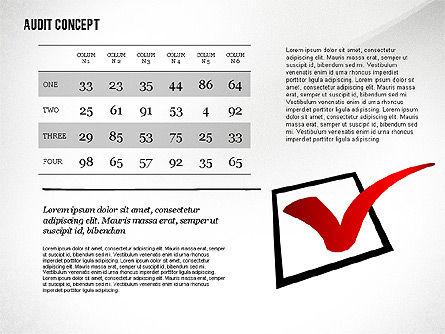 Audit Presentation Concept, Slide 8, 02665, Presentation Templates — PoweredTemplate.com