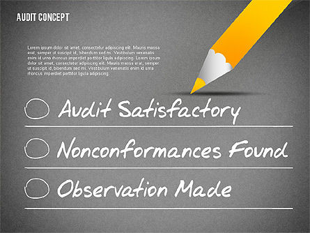 Audit Presentation Concept, Slide 9, 02665, Presentation Templates — PoweredTemplate.com