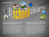 Education Word Cloud Presentation Concept#11