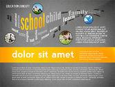 Education Word Cloud Presentation Concept#16