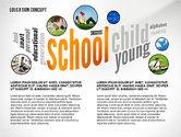 Education Word Cloud Presentation Concept#3