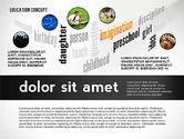 Education Word Cloud Presentation Concept#5