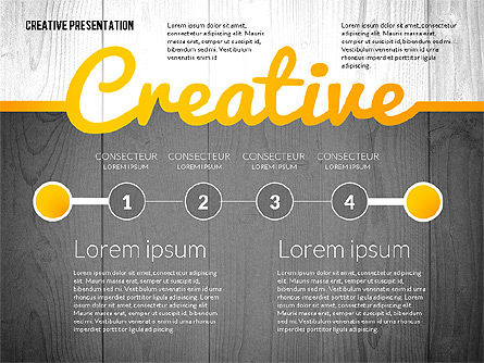 Presentation Templates: Creative presentatiesjabloon #02668