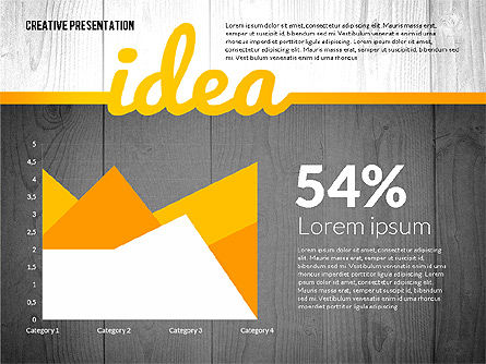 Creative Presentation Template, Slide 3, 02668, Presentation Templates — PoweredTemplate.com