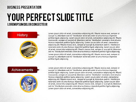 Successful Project Presentation Template, Slide 2, 02673, Presentation Templates — PoweredTemplate.com