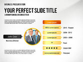 Presentation Templates: Successful Project Presentation Template #02673
