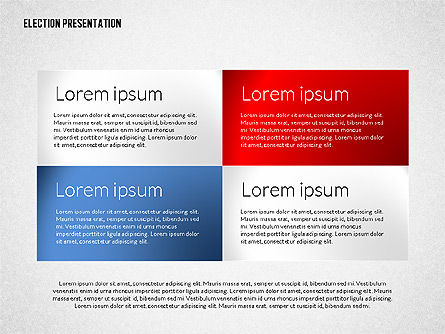 Election Presentation Template, Slide 3, 02676, Presentation Templates — PoweredTemplate.com