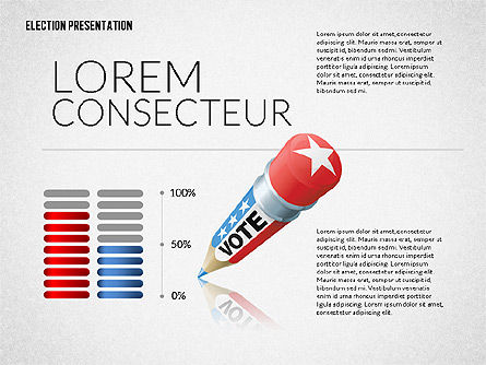 Election Presentation Template, Slide 7, 02676, Presentation Templates — PoweredTemplate.com