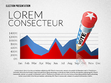 Election Presentation Template, Slide 8, 02676, Presentation Templates — PoweredTemplate.com