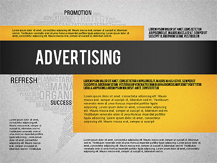 Creative Marketing Promotion Presentation Template, Slide 12, 02677, Presentation Templates — PoweredTemplate.com