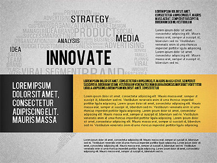 Creative Marketing Promotion Presentation Template, Slide 15, 02677, Presentation Templates — PoweredTemplate.com