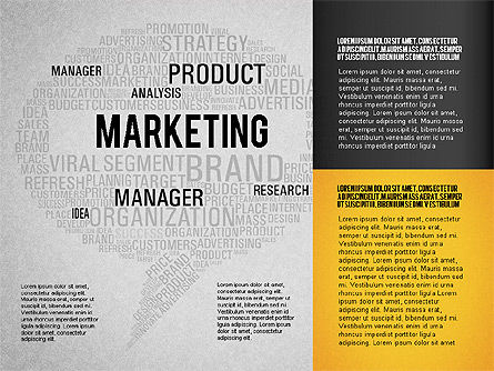 Creative Marketing Promotion Presentation Template, Slide 16, 02677, Presentation Templates — PoweredTemplate.com