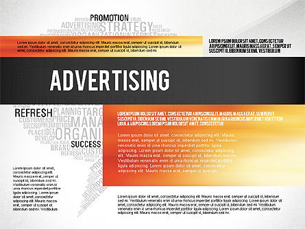 Creative Marketing Promotion Presentation Template, Slide 4, 02677, Presentation Templates — PoweredTemplate.com