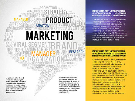 Creative Marketing Promotion Presentation Template, Slide 8, 02677, Presentation Templates — PoweredTemplate.com