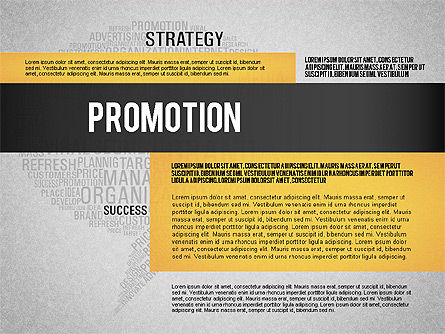 Creative Marketing Promotion Presentation Template, Slide 9, 02677, Presentation Templates — PoweredTemplate.com