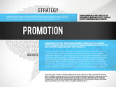 Presentation Templates: Creative Marketing Promotion Presentation Template #02677