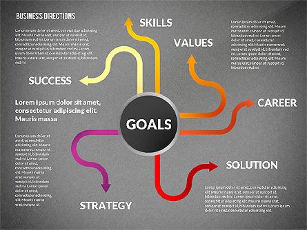 Business Directions Toolbox, Slide 10, 02678, Process Diagrams — PoweredTemplate.com