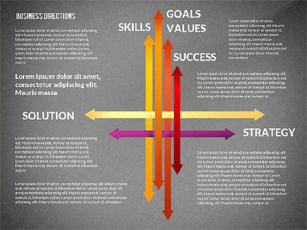 Business Directions Toolbox, Slide 11, 02678, Process Diagrams — PoweredTemplate.com