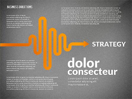 Business Directions Toolbox, Slide 14, 02678, Process Diagrams — PoweredTemplate.com