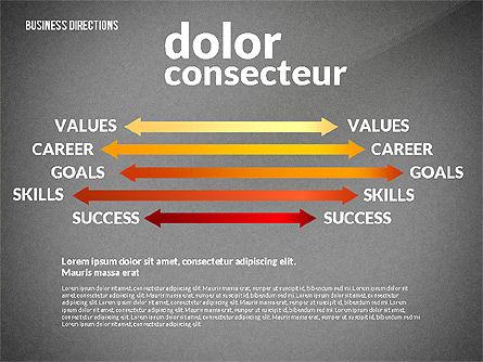 Business Directions Toolbox, Slide 16, 02678, Process Diagrams — PoweredTemplate.com