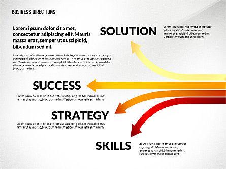 Business Directions Toolbox, Slide 5, 02678, Process Diagrams — PoweredTemplate.com