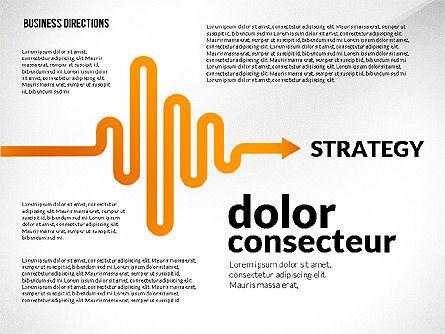 Business Directions Toolbox, Slide 6, 02678, Process Diagrams — PoweredTemplate.com