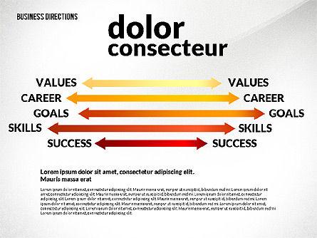 Business Directions Toolbox, Slide 8, 02678, Process Diagrams — PoweredTemplate.com