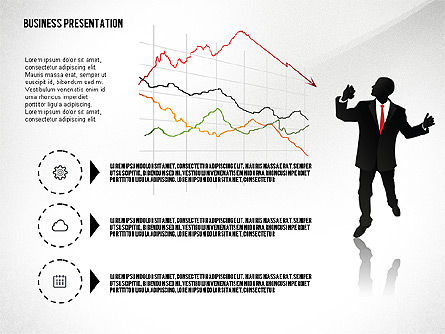 Silhouettes: Business Presentation with Silhouettes #02681