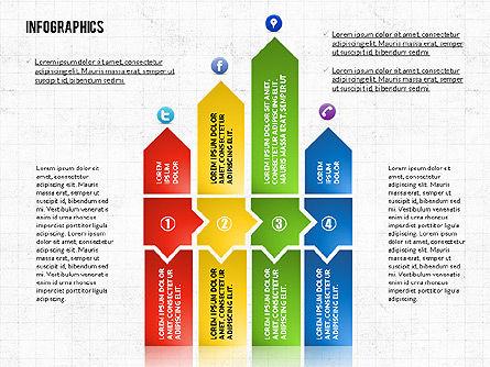 Process Infographics Toolbox, Slide 3, 02682, Infographics — PoweredTemplate.com