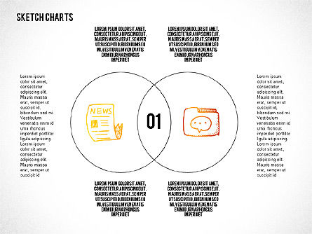 Business Models: Presentation with Venn Diagram #02683