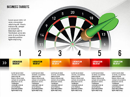 Options with Target Darts, 02684, Stage Diagrams — PoweredTemplate.com