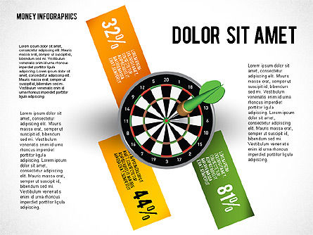 Options with Target Darts, Slide 3, 02684, Stage Diagrams — PoweredTemplate.com