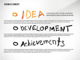 Shapes: Idea Development Achievements Presentation Concept #02688
