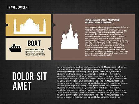 Travel Presentation in Flat Design, Slide 15, 02691, Presentation Templates — PoweredTemplate.com