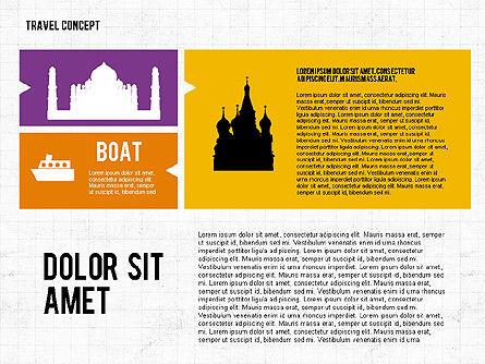 Travel Presentation in Flat Design, Slide 7, 02691, Presentation Templates — PoweredTemplate.com
