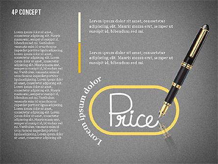 The 4Ps of Marketing Presentation Concept, Slide 12, 02693, Business Models — PoweredTemplate.com
