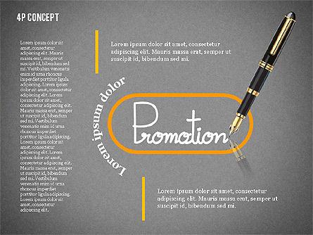 The 4Ps of Marketing Presentation Concept, Slide 14, 02693, Business Models — PoweredTemplate.com