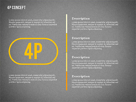 The 4Ps of Marketing Presentation Concept, Slide 15, 02693, Business Models — PoweredTemplate.com