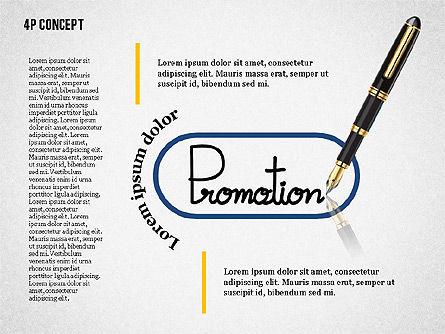 The 4Ps of Marketing Presentation Concept, Slide 6, 02693, Business Models — PoweredTemplate.com
