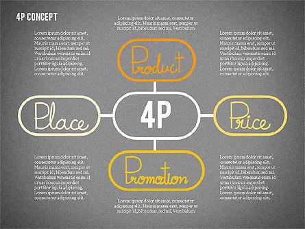 The 4Ps of Marketing Presentation Concept, Slide 9, 02693, Business Models — PoweredTemplate.com