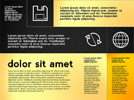 Flat Presentation with Icons, Slide 16, 02694, Presentation Templates — PoweredTemplate.com