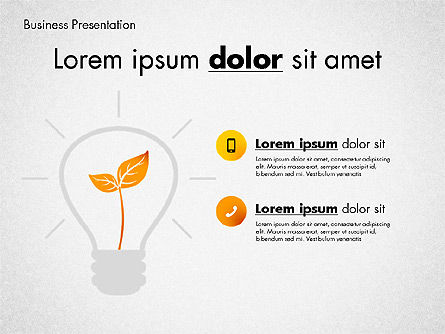 Presentation Templates: Modern Presentation Template with Data Driven Charts #02696