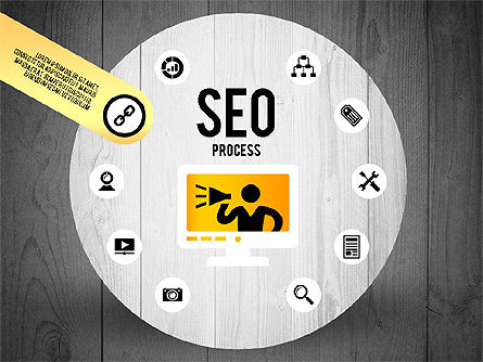 SEO Process Stages, Slide 11, 02699, Stage Diagrams — PoweredTemplate.com
