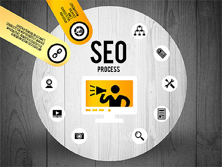 SEO Process Stages, Slide 12, 02699, Stage Diagrams — PoweredTemplate.com