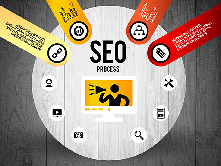 SEO Process Stages, Slide 14, 02699, Stage Diagrams — PoweredTemplate.com