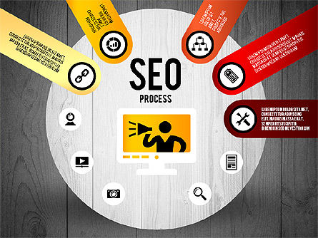 SEO Process Stages, Slide 15, 02699, Stage Diagrams — PoweredTemplate.com