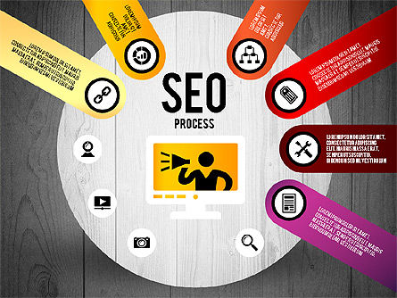 SEO Process Stages, Slide 16, 02699, Stage Diagrams — PoweredTemplate.com