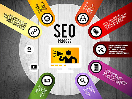 SEO Process Stages, Slide 18, 02699, Stage Diagrams — PoweredTemplate.com