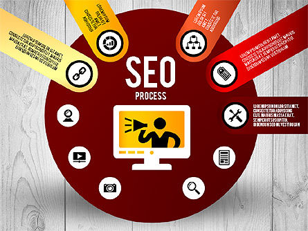 SEO Process Stages, Slide 5, 02699, Stage Diagrams — PoweredTemplate.com